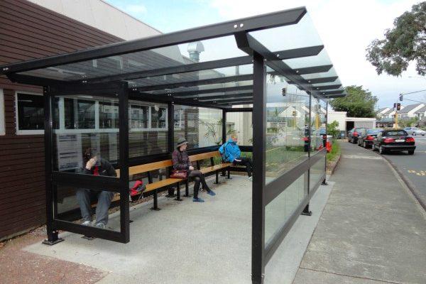 AUT Bus Shelter Large Custom Glass - Copy