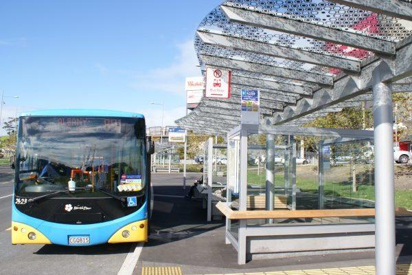 Auckland Bus Interchange Shelter Design Albany 02