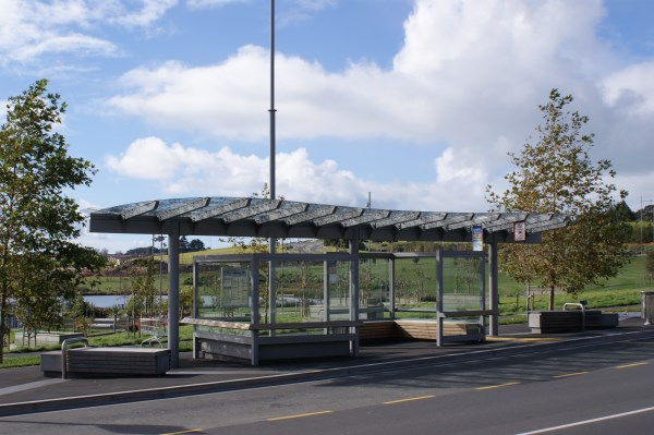 Auckland Bus Interchange Shelter Design Albany 08