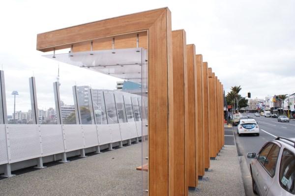 Auckland K Road Bridge Timber Laminate Walkway
