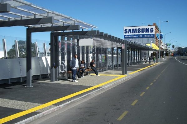 Auckland K Road Bus Shelters Wide
