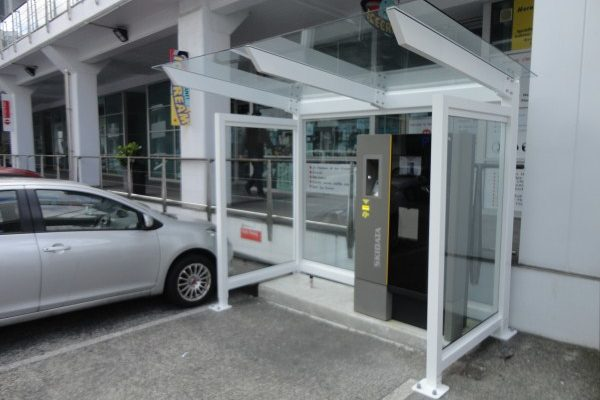 Auckland Princess Wharf Parking Machine Shelter