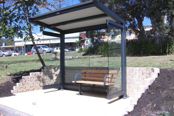 CAM Mini Cantilevered Shelter 2.4m long