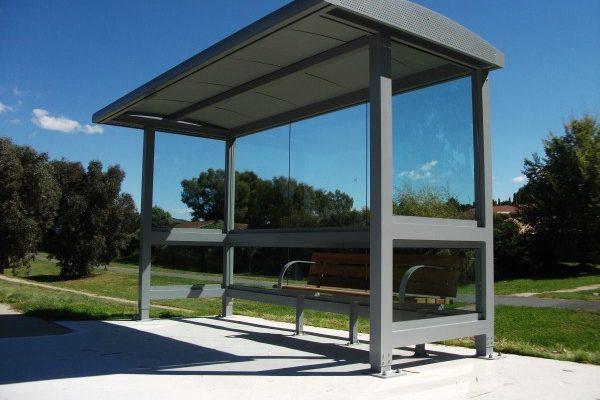 Canberra 4m Bus Shelter 2