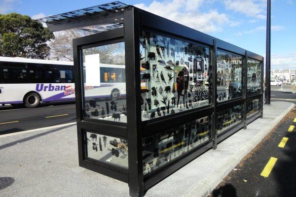 Onehunga 7m Cantilever Bus Shelter 02