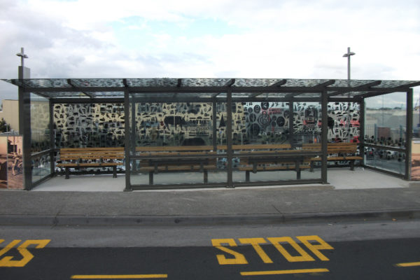 Onehunga Mall Bus Shelter
