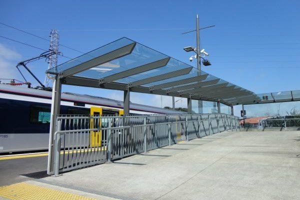 Onehunga Train Station Walkway 02