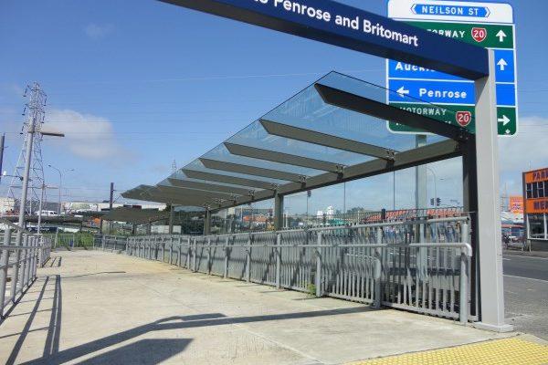 Onehunga Train Station Walkway 03