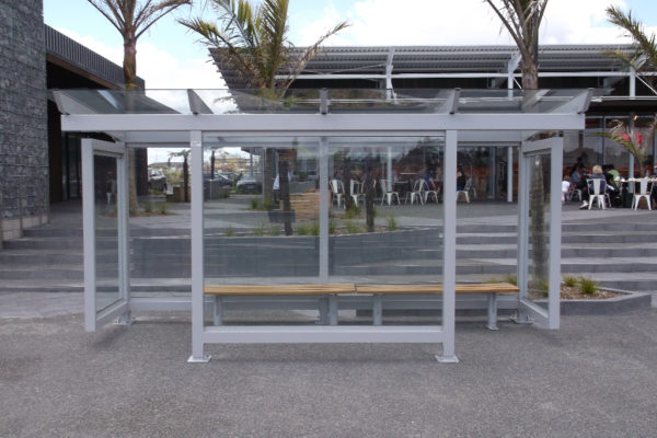 Stonfields Market Bus Shelter - installed (4)