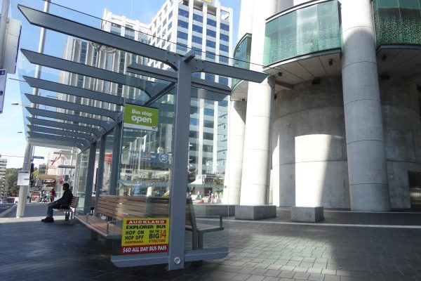 Victoria St Sky City Double Cantilever Shelter