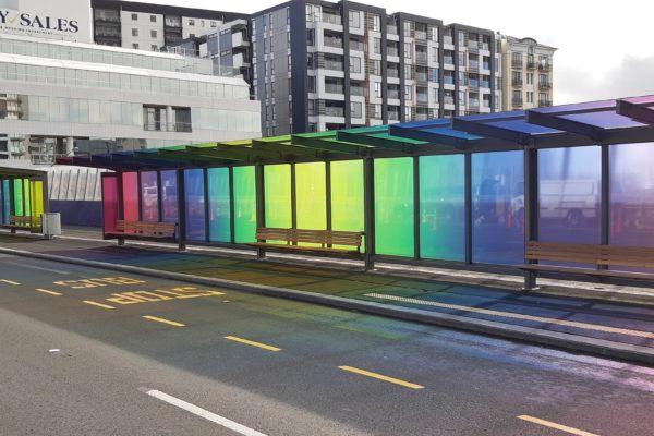 2. Rainbow shelter