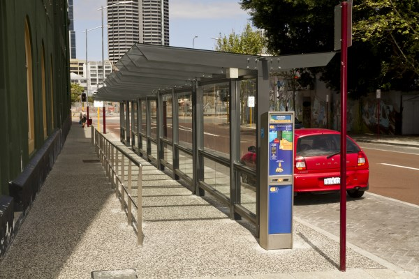 4.0 Perth Taxi shelter