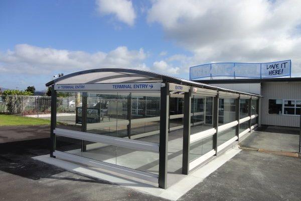 Whangarei Airport Shelter Departure 01